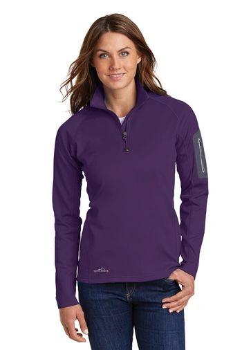 Eddie Bauer® Ladies 1/2-Zip Performance Fleece HBG