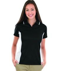 Charles River Women's Color Blocked Wicking Polo BNS