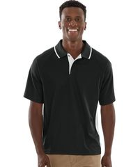 Charles River Men's Color Blocked Wicking Polo BNS