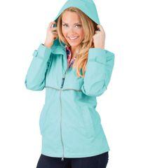 Charles River Women's New Englander® Rain Jacket HBG