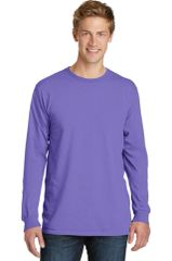 Port & Company® Pigment-Dyed Long Sleeve Tee HBG