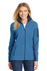 Port Authority® Ladies Summit Fleece Full-Zip Jacket NCA