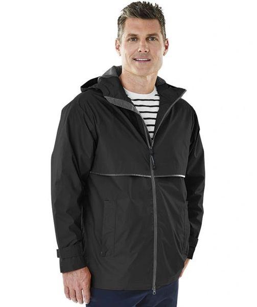 CHARLES RIVER Men's New Englander® Rain Jacket NCA