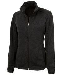 Charles River Women's Heathered Fleece Jacket PNS