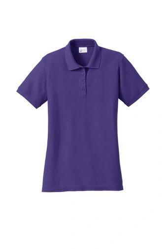 Port & Company® Ladies Core Blend Pique Polo NKC