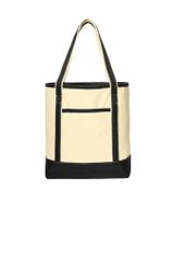 Port Authority® Large Cotton Canvas Boat Tote INS