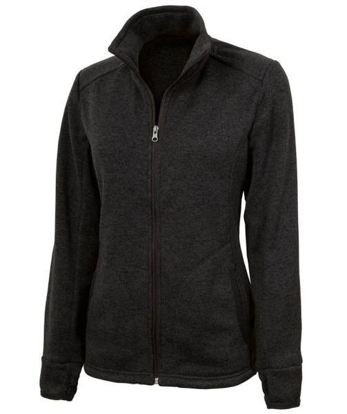 Women's Heathered Fleece Jacket INS