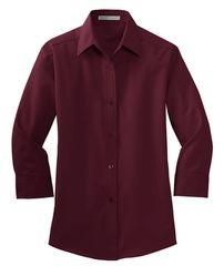Port Authority® Ladies 3/4-Sleeve Easy Care Shirt INS