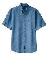 Port & Company® - Short Sleeve Value Denim Shirt INS