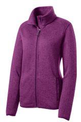 Port Authority® Ladies Sweater Fleece Jacket NBC2020