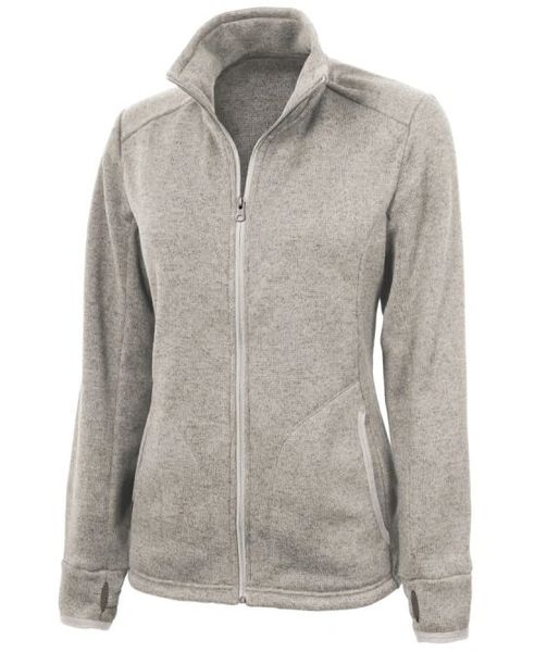 Charles River WOMEN'S HEATHERED FLEECE JACKET NBC2020
