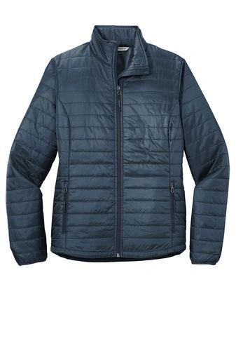 Port Authority ® Ladies Packable Puffy Jacket PBGV