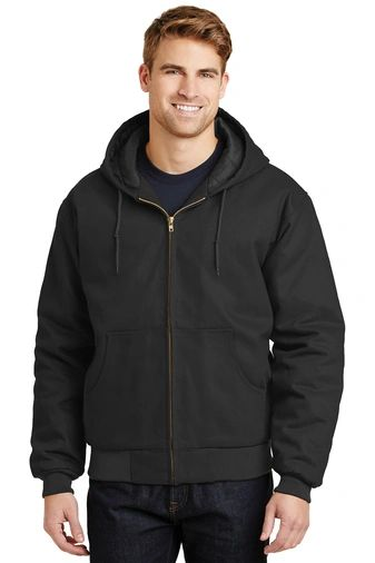CornerStone® - Duck Cloth Hooded Work Jacket PBGV