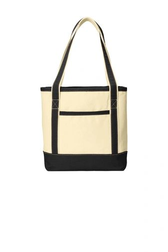 Port Authority® Medium Cotton Canvas Boat Tote PBGV