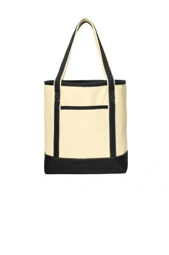 Port Authority® Large Cotton Canvas Boat Tote PBGV