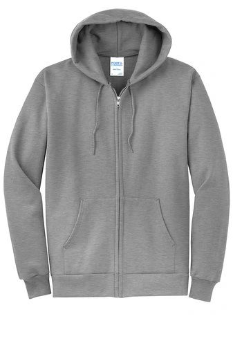 Port & Company® Core Fleece Full-Zip Hooded Sweatshirt PBGV