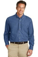 Port Authority® Heavyweight Denim Shirt PBGV