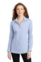 Port Authority ® Ladies Pincheck Easy Care Shirt NBC2020