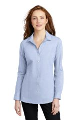 Port Authority ® Ladies Pincheck Easy Care Shirt INS