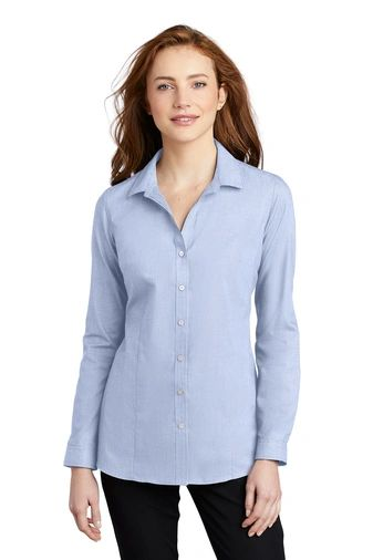 Port Authority ® Ladies Pincheck Easy Care Shirt PBGV