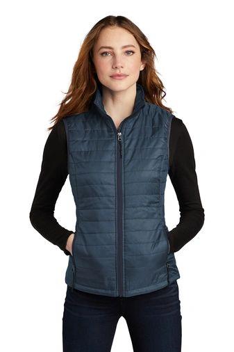 Port Authority ® Ladies Packable Puffy Vest HBG