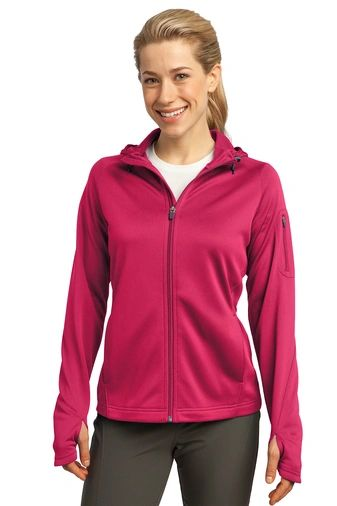 Sport-Tek® Ladies Tech Fleece Full-Zip Hooded Jacket HBG