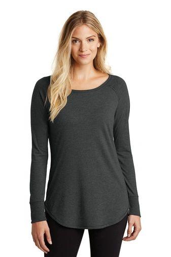 District ® Women's Perfect Tri ® Long Sleeve Tunic Tee HBG