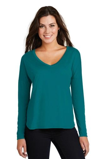 District ® Women's Drapey Long Sleeve Tee PBGV