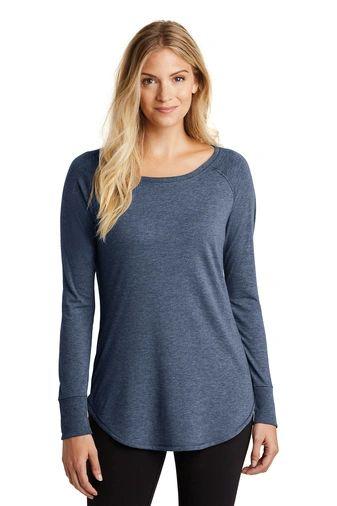 District ® Women's Perfect Tri ® Long Sleeve Tunic Tee NKC