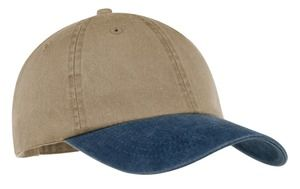 Port & Company® -Two-Tone Pigment-Dyed Cap. CP83.