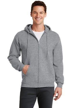 Port & Company® - Core Fleece Full-Zip Hooded Sweatshirt NPSA