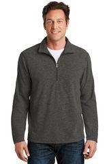 Port Authority® Heather Microfleece 1/2-Zip Pullover NPSA