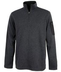 Charles River Men's Heathered Fleece Pullover NPSA