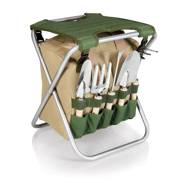 Gardener Seat & Tools