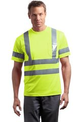 ANSI 107 Class 3 Short Sleeve Snag-Resistant Reflective T-Shirt