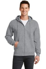 Port & Company® - Core Fleece Full-Zip Hooded Sweatshirt GS