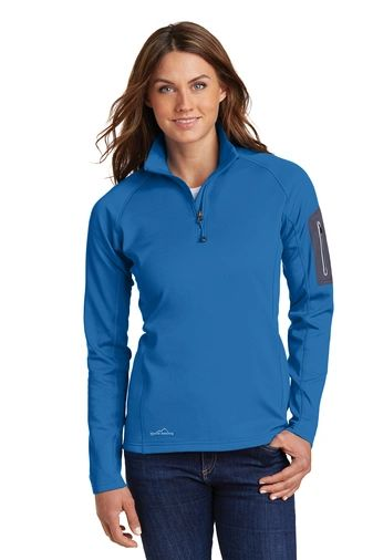 Eddie Bauer® Ladies 1/2-Zip Performance Fleece CNS