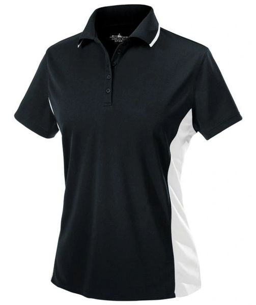 Charles River Women's Color Blocked Wicking Polo BCP