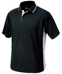 Charles River Men's Color Blocked Wicking Polo BCP