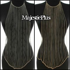 Body Chain Waterfall Vest