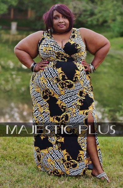 Maze & Versace Print Maxi Dress