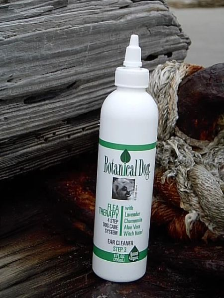 Botanical Dog Flea Therapy Ear Cleaner 8 oz