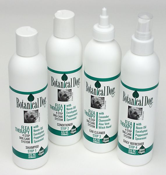 Botanical Dog Neem Dream 4 Step Dog Care System-A non chemical alternative