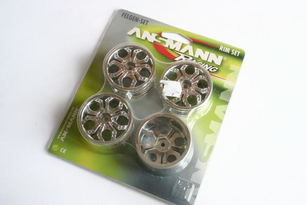 Ansmann Spyder Wheel Rim Set Chrome - 213000003