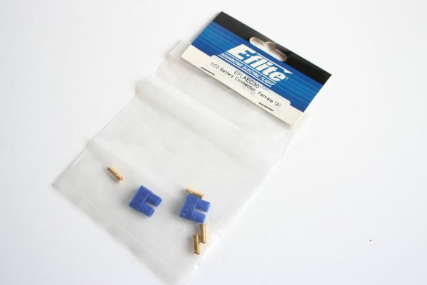 E-Flite EFLAEC30 EC3 Battery Connector, Female (2)