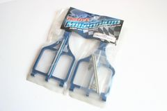 Fastrax Traxxas T-Maxx 2.5 Blue Alloy Upper Suspension Arms Front or Rear FTTX70