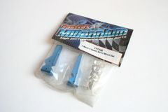 Fastrax Traxxas T-Maxx Blue Alloy 2 Speed Servo Mount Set - FTTX08 Tmaxx