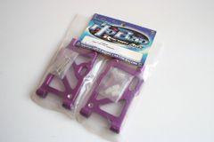 Fastrax Purple Alloy Rear Lower Wishbones For Hobao Hyper 7 (PBS) - FTHB04