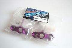 Fastrax Purple Aluminium Front Knuckle Arms For Hobao Hyper 7 (PBS) - FTHB05