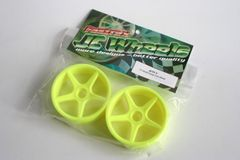 Fastrax JC Wheels Front Yellow Wheels For Hornet / Traxxas - JCTF-Y Tamiya